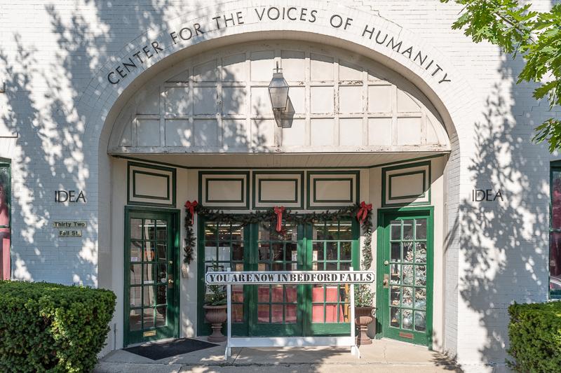 It's a Wonderful Life Museum Entrance