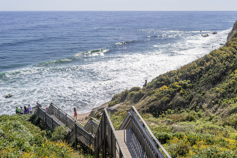 Mohegan Bluffs Stairs
