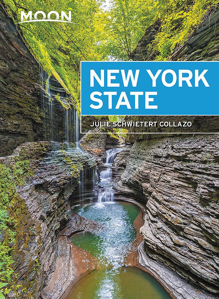 Moon New York State Travel Guide 2017