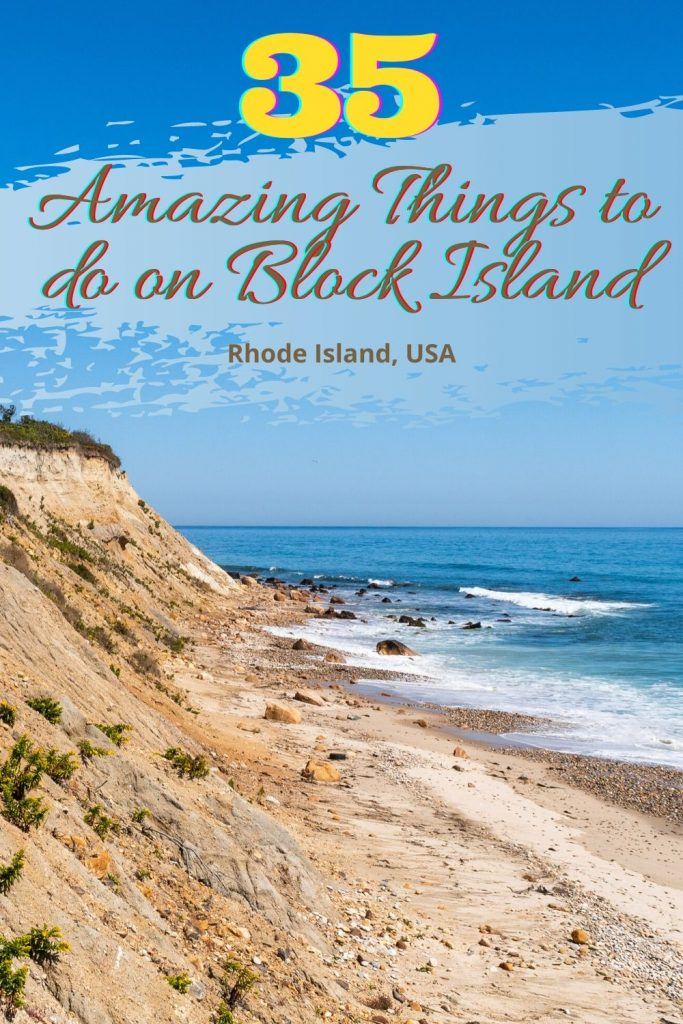 There are so many amazing things to do on Block Island, RI. See a zedonk. Explore the first US offshore wind farm, bike around the island, relax on a beach, or go on a hike.