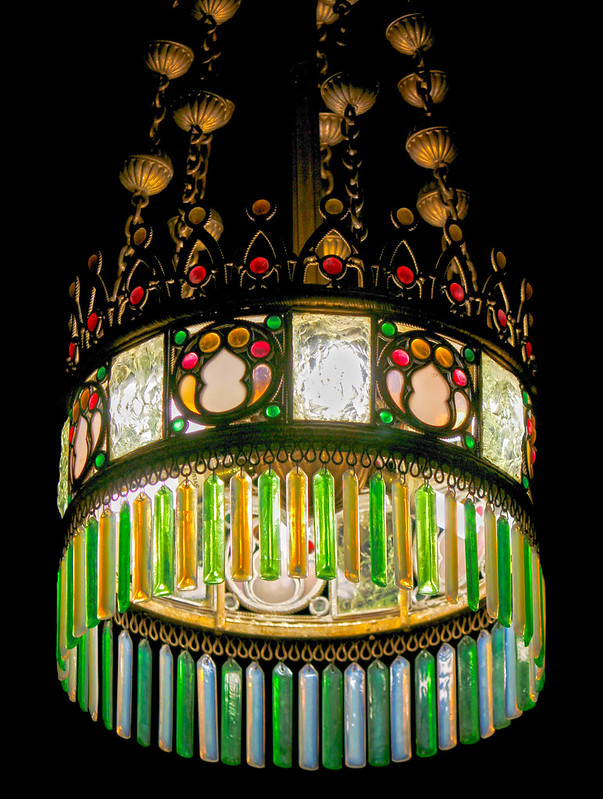 Willard Chapel Tiffany Chandelier