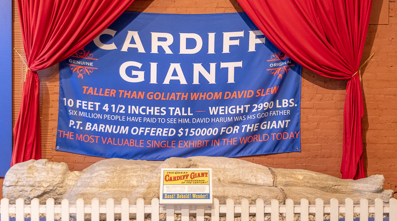 Cardiff Giant Farmers Museum